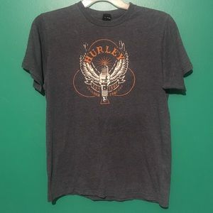 Vintage Hurley Graphic tee shirt Large